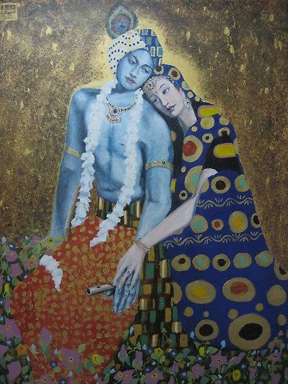 Sri Sri Radha Krishna  by Jereme Crow  on redbubble.com