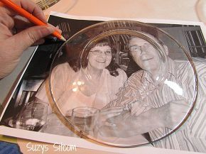 diy photo plate wall art, crafts, decoupage, home decor