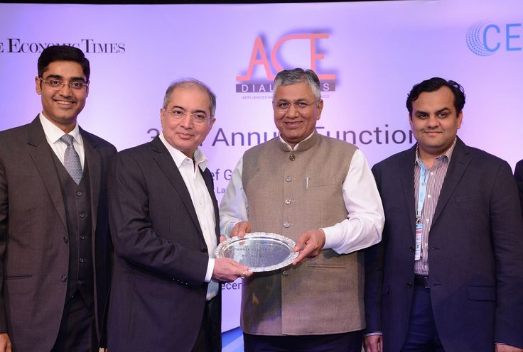 #CEAMA Honours Anil Khera with Man of Electronics Award #videocond2h