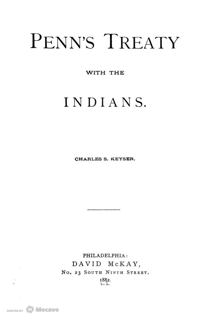 Penns Treaty With the Indians, Page 5 | Document Viewer