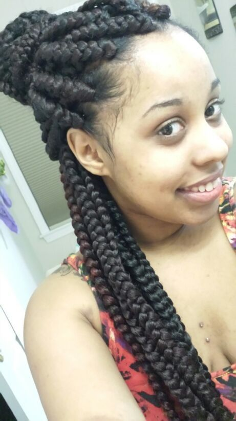 Crochet Box Braids Big : jumbo box braids box braids 3 weave braids jumbo box braids braids ...