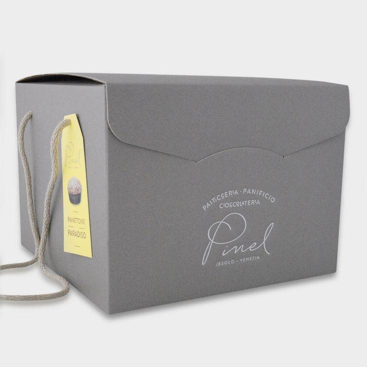 Progetto: Pinel - Logo applicato al packaging