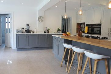 1920's Property Refurbishment Hertfordshire contemporary-kitchen