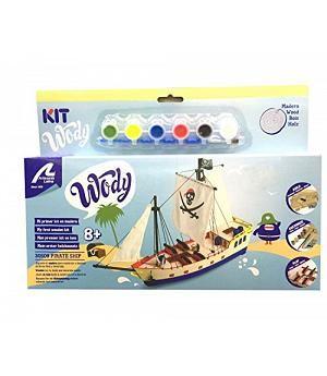 Artesanía Latina 30509 - Kit iniciación barco de piratas