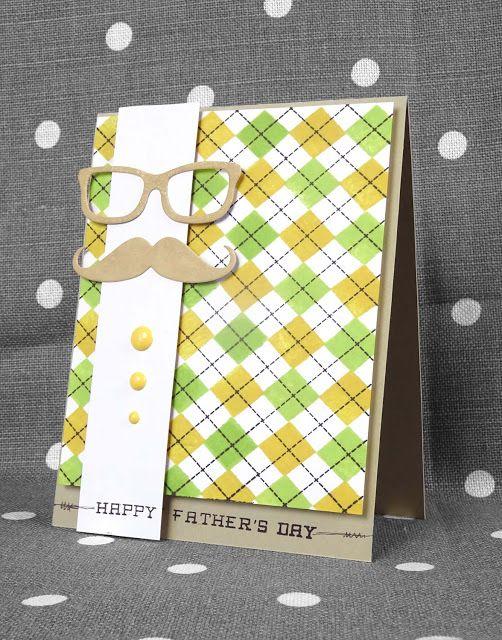 Scrap et Carte : Fête des pères