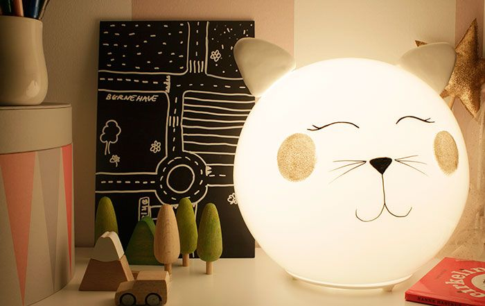 DIY FADO Kitty lamp | IKEA Hackers