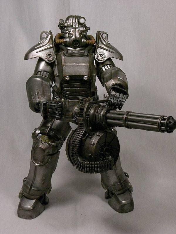 Threezero's Fallout 4 T-45 Power Armor exclusive!!! - OSW: One Sixth Warrior…