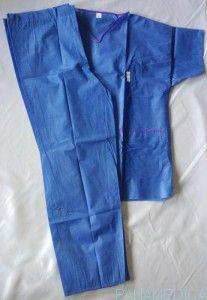 Ubranie operacyjne - niebieskie https://facebook.com/panamedicasklep/ https://plus.google.com/114059304970197082613