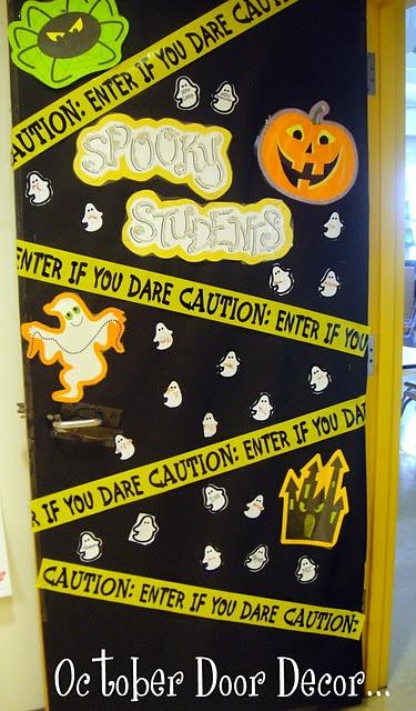 Love decorating my classroom door :)  This is October 2011