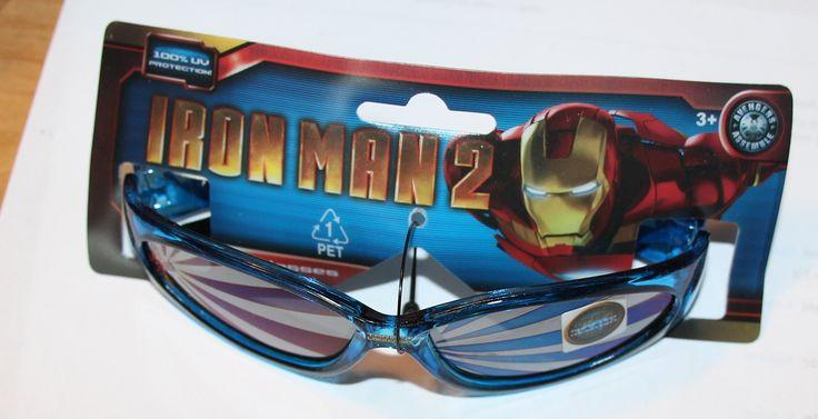Ironman 2 Boys Sunglasses. 1 pair of ironman sunglasses.