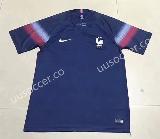 10945c7d238 2019-2020 France Home Blue Thailand Soccer Jersey AAA | New arrival ...