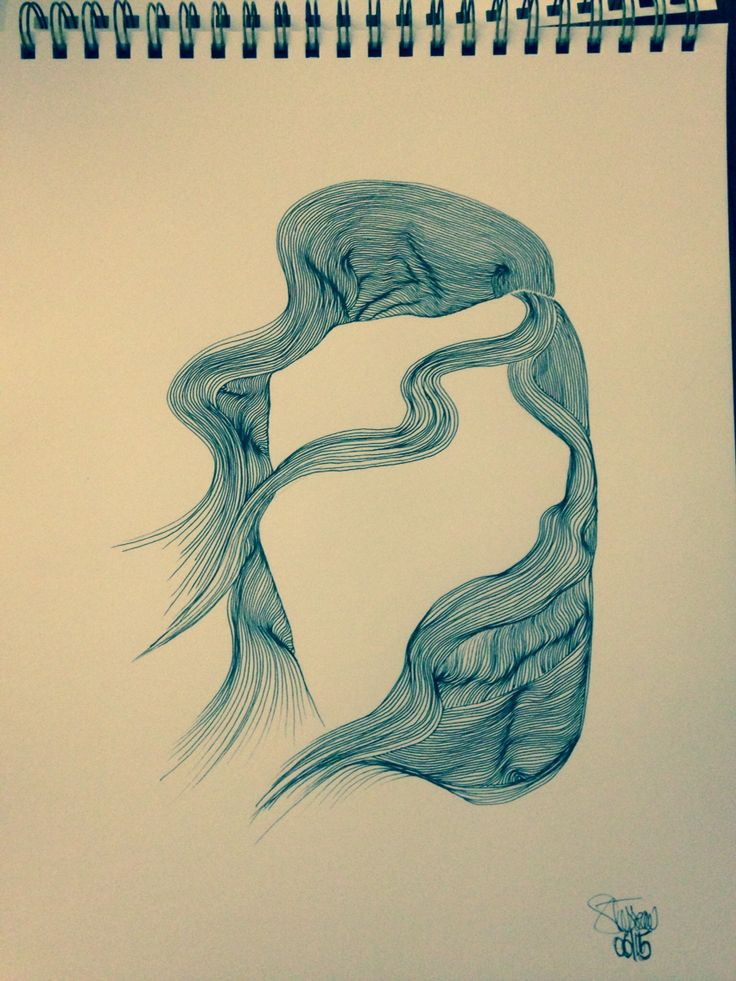 AirCut #06 : 2014 / Staedtler on paper / S.Tusseau