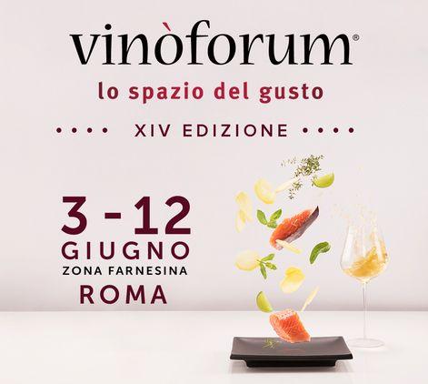 Dal 3 al 12 giugno ritorna a Roma VINOFORUM, l'evento dedicato al food&wine. Una manifestazione ricca di degustazioni, cene d'autore, abbinamenti cibo/vino con ospiti, banchi d'assaggio di 500 cantine vinicole, con un programma ricco di eventi.  Anche noi di VILLA PARENS ci prepariamo ad accogliere il pubblico di visitatori all'interno dello stand Agenzia SALVINI, nostro agente su Roma, per presentare le annate 2016 di Ribolla Gialla e Pinot Nero Ruttars con il Blanc de Blancs Metodo…