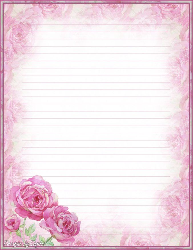 This is a photo of Peaceful Pretty Stationary Paper