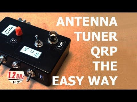 Antenna Tuner, QRP, Compact, the easy way... - YouTube