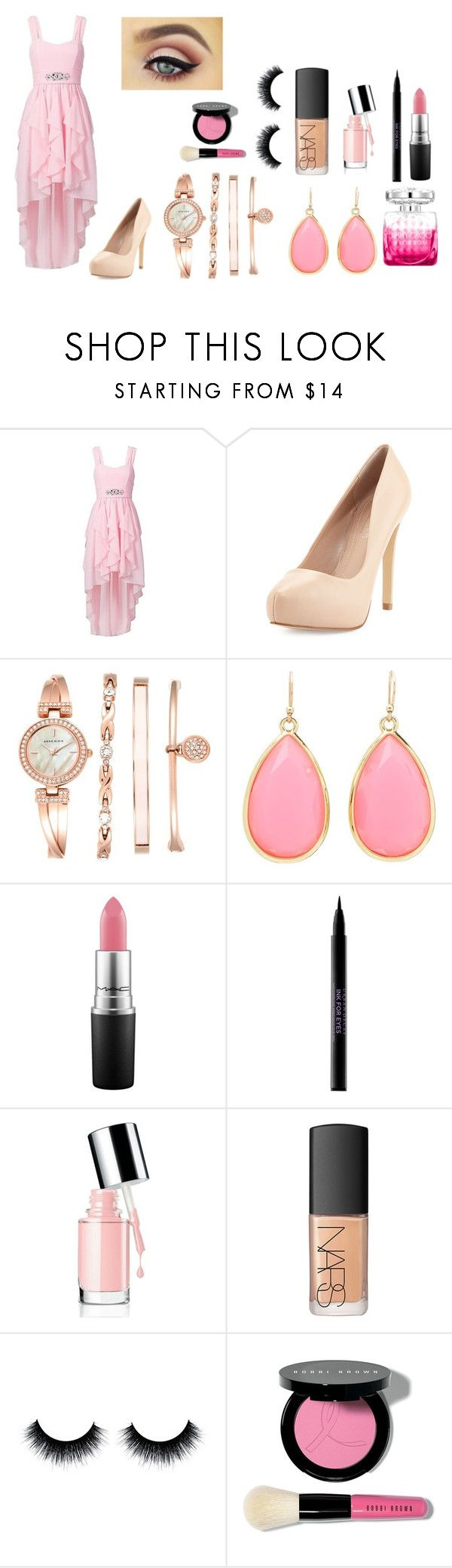 """LOL"" by veeruska-1 on Polyvore featuring Charles by Charles David, Anne Klein, Kate Spade, Jimmy Choo, MAC Cosmetics, Urban Decay, NARS Cosmetics and Bobbi Brown Cosmetics"