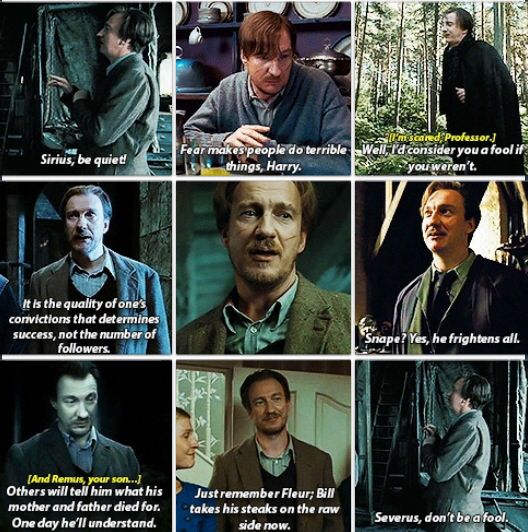 Remus Lupin ~ Harry Potter