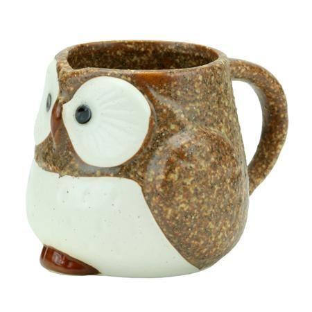 Merae - Stony Owl Mug (Brown)(http://merae.com/stony-owl-mug-brown/)