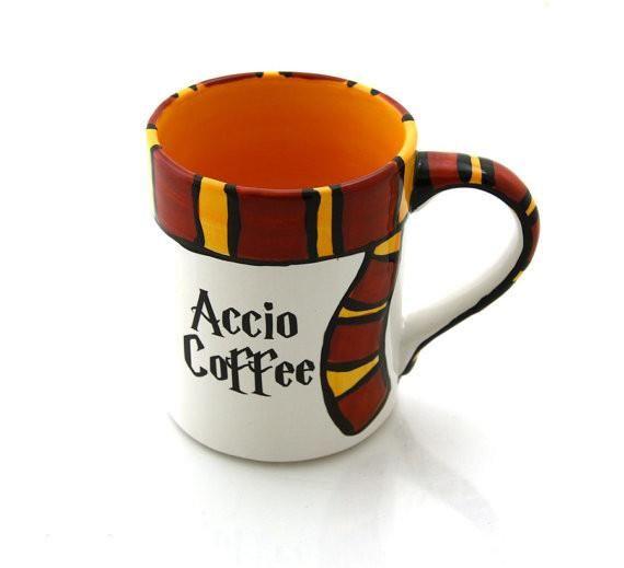 Harry Potter Accio Coffee Parody Mug
