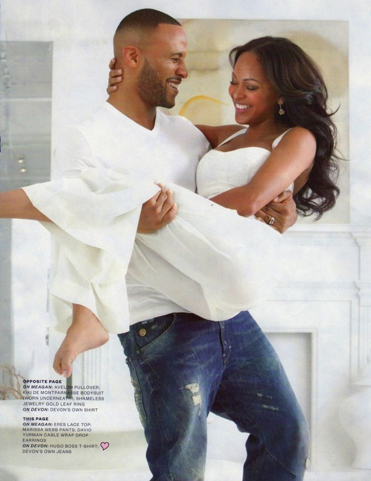Meagan Goode and Husband Devon Franklin