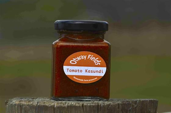 If you like your sauce hot and spicy, then this is the one for you!  Serve with rice and veggies, or use a dipping sauce!  Top a curry with a spoonful for extra HEAT!  Add to coconut milk and poach fish or chicken in it.  Available from:  www.farmhousedirect.com.au/otwayfields