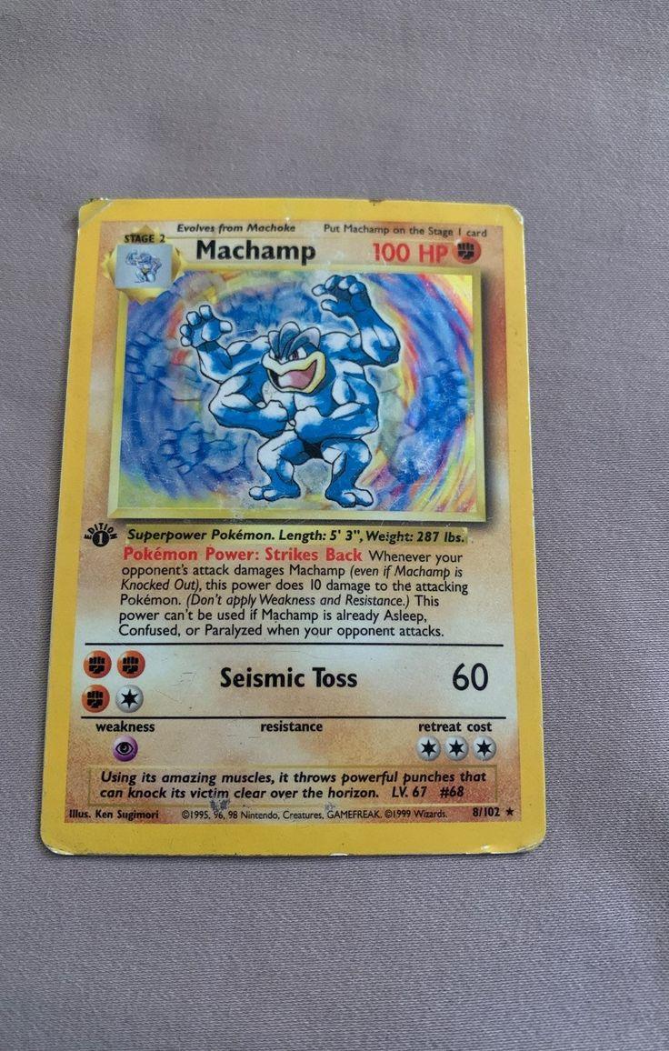 Ok condition very rare collectors item pokemon cards