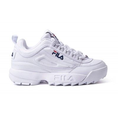 4179af605a7 Zapatillas chica Fila Disruptor Low W – White