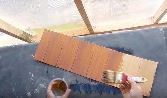 aplikasi cat water based biovarnish dengan kuas #BiovarnishWoodFiller #BiovarnishWoodStain #BiovarnishClearCoat #pintu #kusen #trending #furniture #wooden #woodworking #kayu #mebel #catkayu #catkayuwaterbased #waterbased #cat #kayu #acrylicpaint #biovarnish #bioindustries #woodcraft #kursi #kayu #mebel #triplek