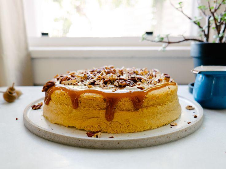 Pumpkin Spice Japanese Cheesecake — Fix Feast Flair