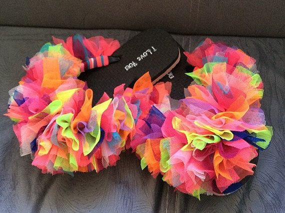 Limited Addition Bridesmaid Flip FlopsCustomize by Cocomillo
