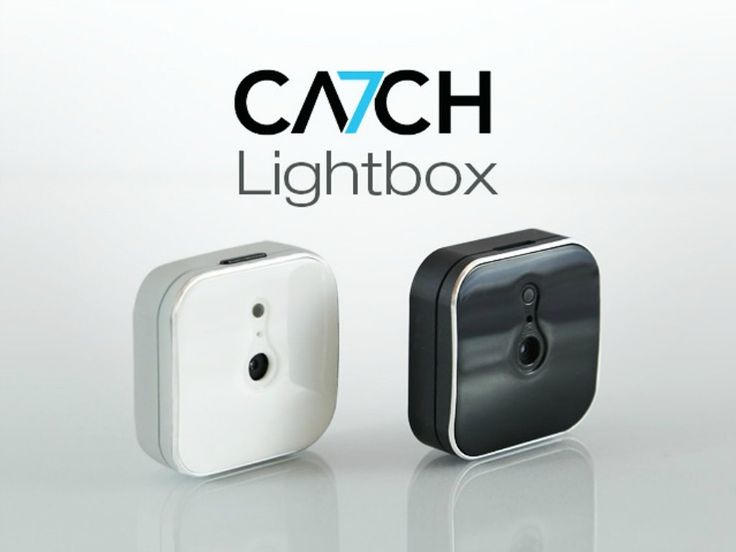 The CA7CH Lightbox makes photography a seamless experience and a co-pilot to your life, taking and sharing memories and events automatically.