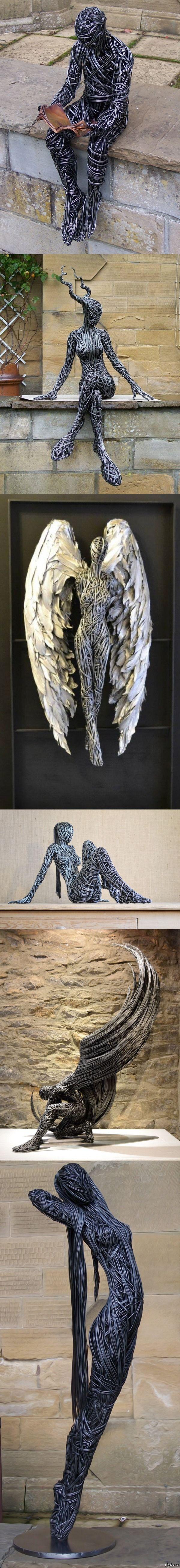 """""""Потрясающие металлические скульптуры от Richard Stainhorp""""   фото, скульптура, металл, Richard Stainhorp, Интересное, длиннопост"""
