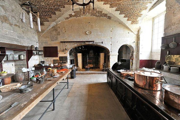 Chateau De Valen 231 Ay Indre La Cuisine Kitchens