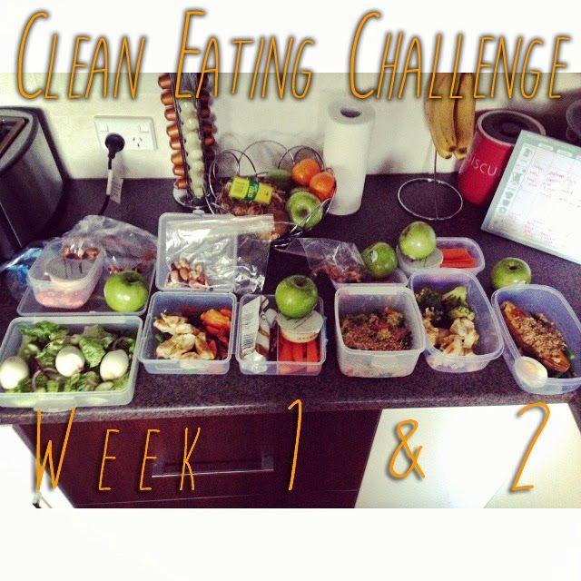 Healthy In Design: Week 1 & 2 of Clean Eating Challenge