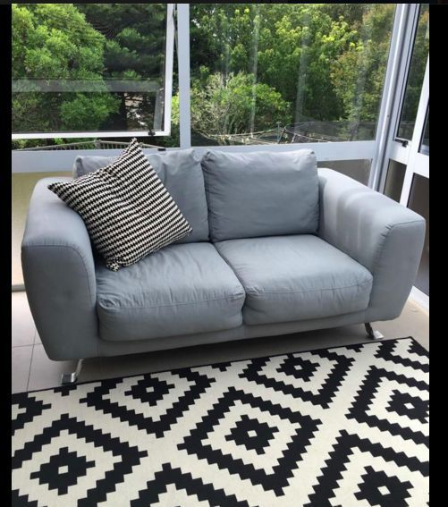 A revival of a Micro Suede Couch... Annie Sloan Chalk Paint