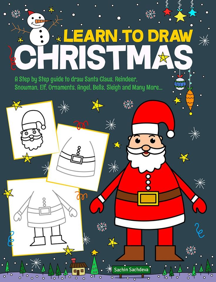 I may be short, I may be tall, But i am loved by all. Put a star, shine some lights, Make me nice and bright. I am your Christmas Tree, I give you gifts for free. LEARN TO DRAW CHRISTMASis a step-…