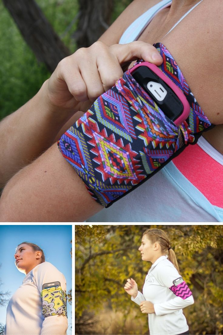 Cell Phone Armband; Running Armband that stays put!