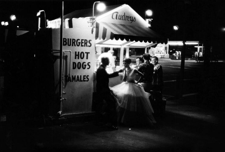 """last-picture-show: """"""""William Claxton, Audreys Hot Dog Stand, Los Angeles, 1961 """" """""""