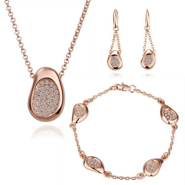 Fashion Nickel and lead free mixed styles 18k gold plating jewelry