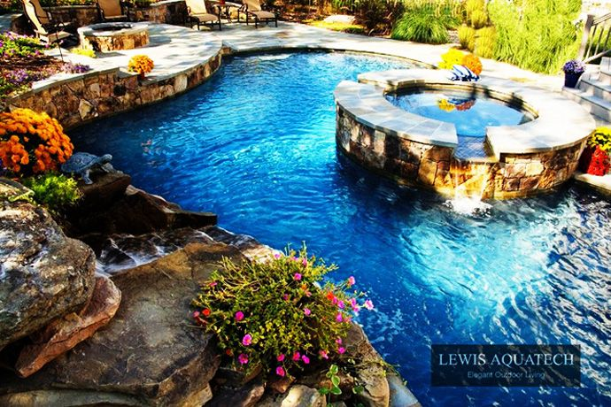 45 amazing swimming pools that can beautify your outdoor space dream backyard pinterest beautiful awesome and modern furniture design - Amazing Swimming Pool Designs