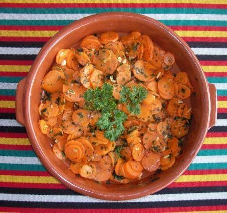 Spanische scharfe Möhren (Vegan Dip Recipes)