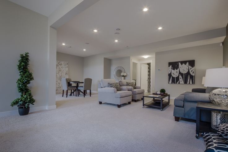 The huge family room in the walkout basement!