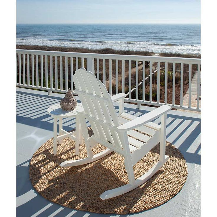 adirondack rocking chair polywood recycled plastic outdoor rockers from vermont woods studios