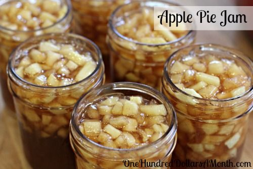 canning 101apple pie jam recipe Update - 10/2012...make sure you use liquid pectin not sure gel or this will be a syrup!....great flavor