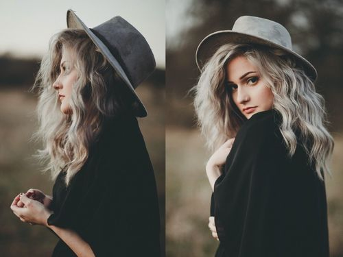 hat photography hair cute fashion Make-up piercing hipster vintage Grunge…
