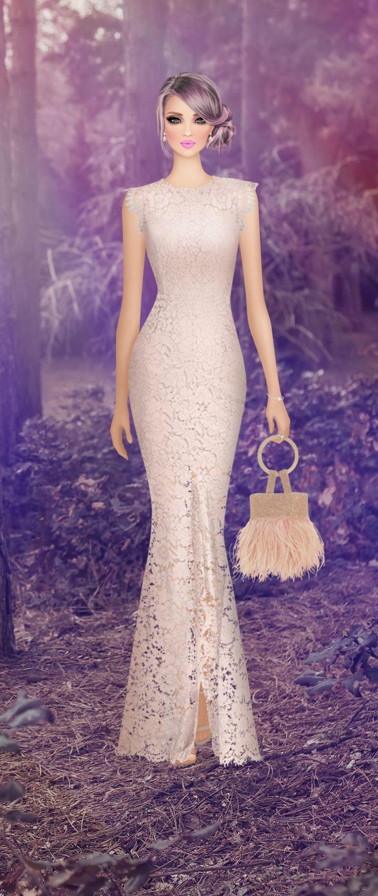 6642 best vestidos largos y de noche images on Pinterest | Alta ...