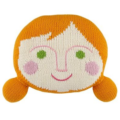 Sweet Pillow Pal: Pals Orange, Knits Throw, Hands Knits, Orange Hands, Pillows Pals, Kids Throw, Kids Orange, Pillows People, Kids Rooms