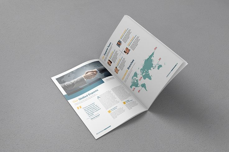 A4 Free Brochure Mock-up
