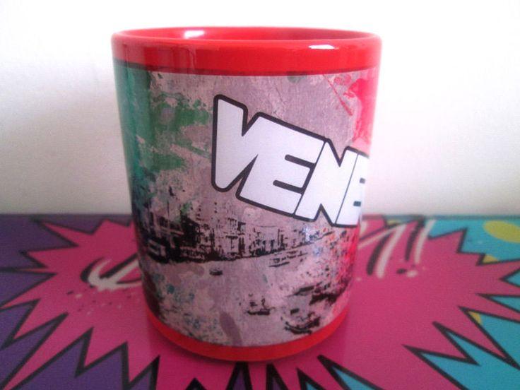Mug con Diseño de la Ciudad de Venecia - Imaginaerum Regalos Bogotá