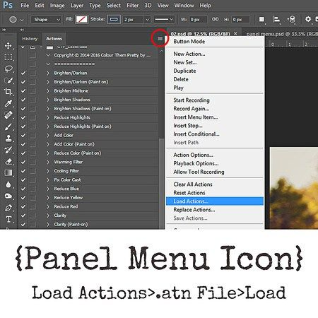 How to Install CTP Actions to Photoshop CS5, CS6 and CC